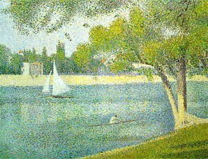 The Siene at la Grande Jatte 1888