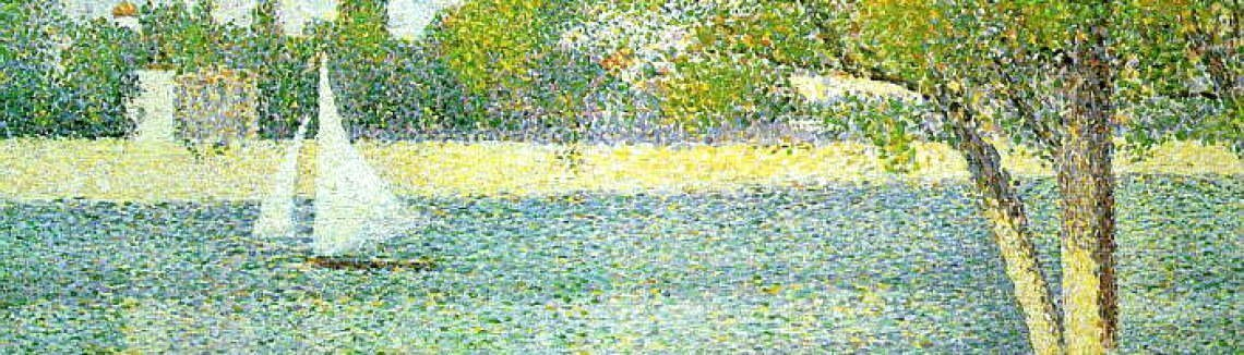 Georges Seurat - The Siene at la Grande Jatte 1888