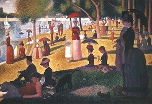 Georges Seurat - Sunday on La Grande Jatte