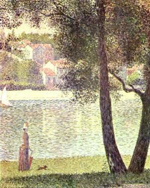 Georges Seurat - Seine at Courbevoie