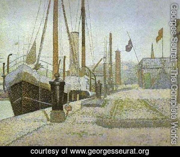 Georges Seurat - The Maria at Honfleur