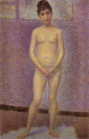 Georges Seurat - Standing Model