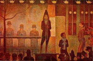 Georges Seurat - The Side Show