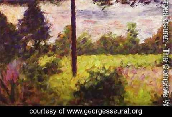 Georges Seurat - Forest of Barbizon
