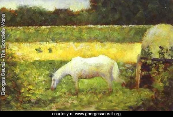 Landscape with a Horse.