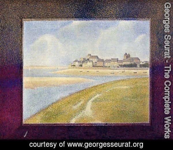 Georges Seurat - Le Crotoy, Upstream