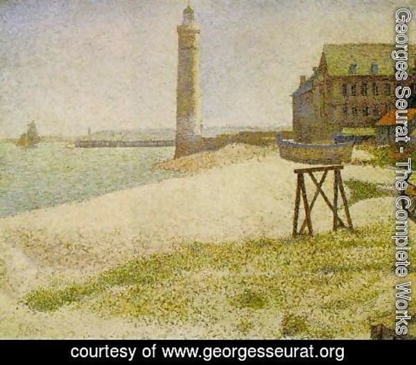 Georges Seurat - lighthouse