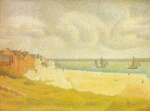 Georges Seurat - Sight of Le Crotoy from the north