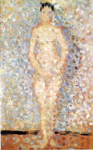 Georges Seurat - Standing Model (study for Les Poseuses)