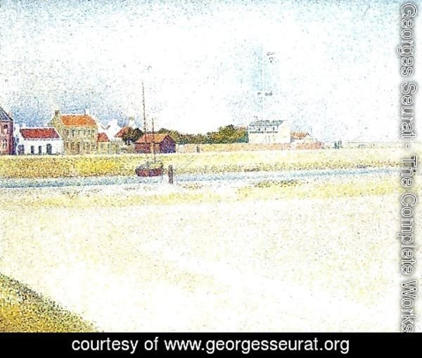 Georges Seurat - The Channel at Gravelines, Grand-Fort-Philippe