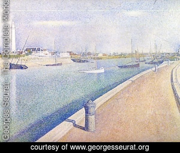 Georges Seurat - The Channel at Gravelines, Petit-Fort-Philippe