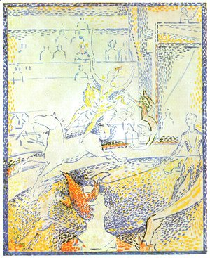 Georges Seurat - The Circus (Study)