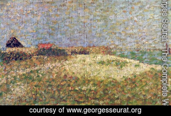 Georges Seurat - The away Samson in Grandcamp