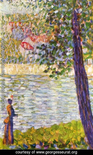 Georges Seurat - The Seine with Courbevoie