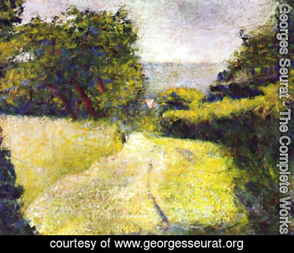 Georges Seurat - The Sunken lane