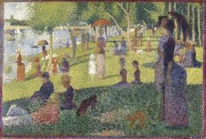 Georges Seurat - Study For A Sunday On La Grande Jatte 1884