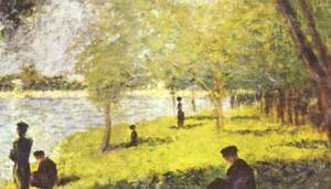 Georges Seurat - Study for Sunday Afternoon on the Island of La Grande Jatte