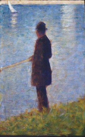 Georges Seurat - The Angler