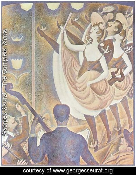 Georges Seurat - Can-Can (Le Chahut)