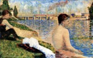 Georges Seurat - Study for Bathers at Asnires 2