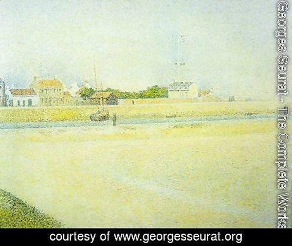 Georges Seurat - The Channel at Gravelines, Grand Fort-Philippe 2