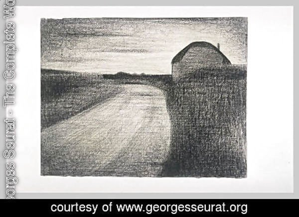 Georges Seurat - On the road