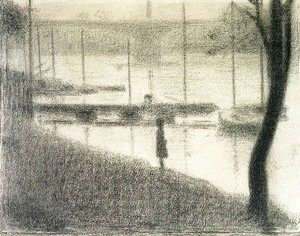Georges Seurat - The Pont de Courbevoie