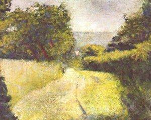 Georges Seurat - The Hollow Way
