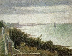 Georges Seurat - The English Channel at Grandcamp