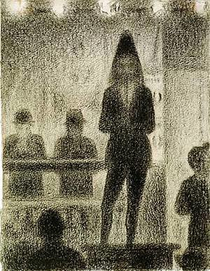 Georges Seurat - Trombone player