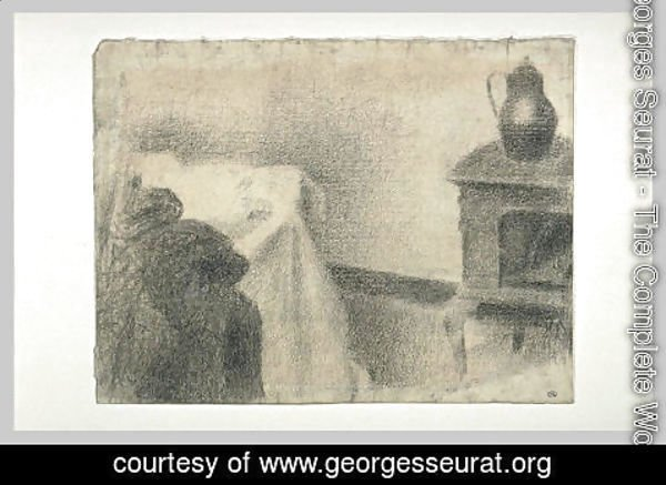 Georges Seurat - Part of the studio