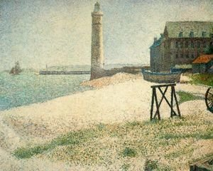 Hospice and Lighthouse, Honfleur