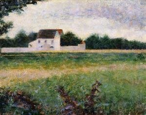 Georges Seurat - Landscape in the Ile-de-France