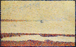 Georges Seurat - Beach at Gravelines