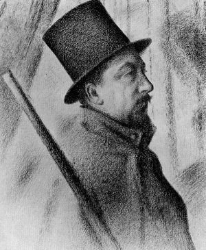 Georges Seurat - Portrait of Paul Signac