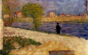 Georges Seurat - Study on the Island