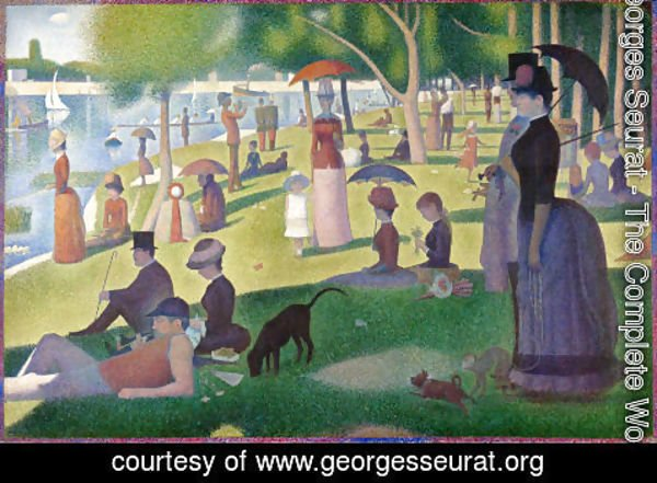 Georges Seurat - Sunday Afternoon on the Island of la Grande Jatte  1886