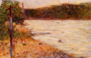 Georges Seurat - Banks Of A River