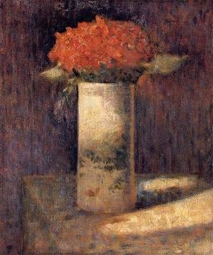 Georges Seurat - Boquet In A Vase