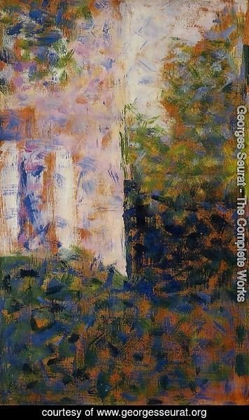Georges Seurat - Corner Of A House