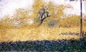 Georges Seurat - Edge Of Wood  Springtime