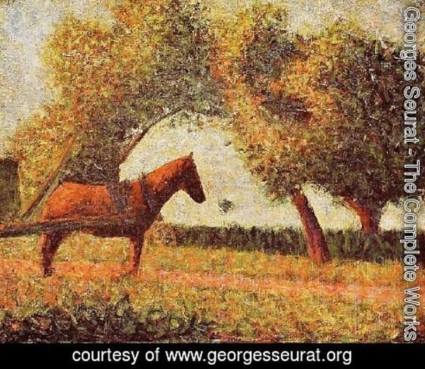 Georges Seurat - Horse
