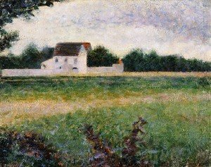 Georges Seurat - Landscape Of The Ile De France