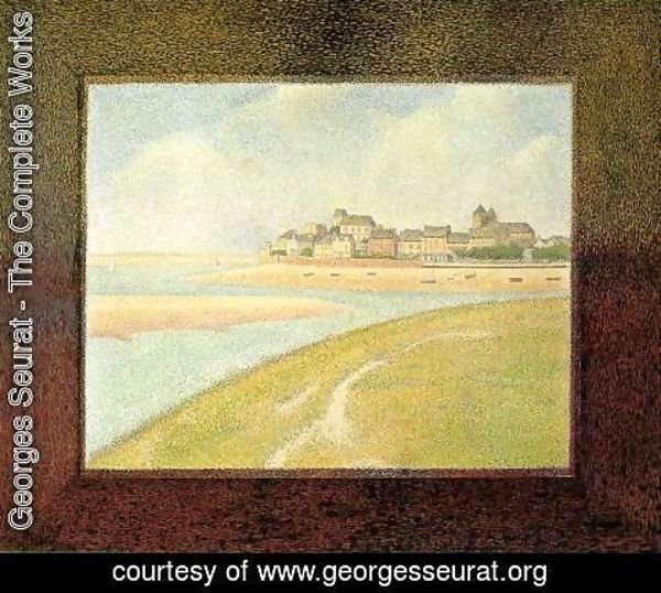 Georges Seurat - Le Crotoy  Upstream