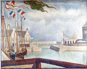 Port-en-Bessin, Sunday 1888