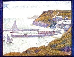 Georges Seurat - Port En Bessin  The Outer Harbor  High Tide