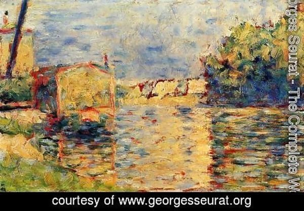 Georges Seurat - Rivers Edge