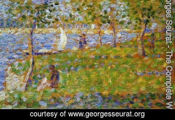 Georges Seurat - Sailboat