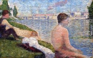 Georges Seurat - Seated Bather