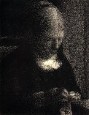 Georges Seurat - The Artists Mother